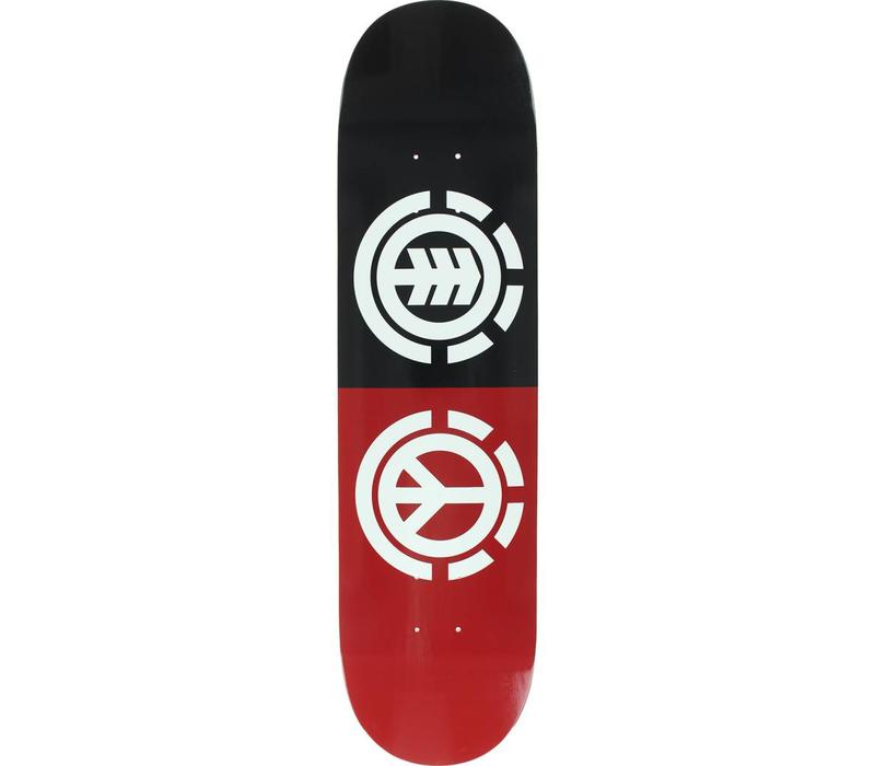 Element Peace Deck 8.0 Black/Red/White