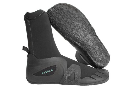 Vissla Vissla 7 Seas Round Toe Bootie 7mm Black