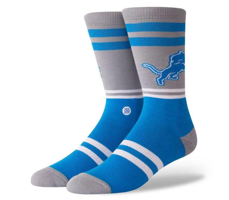 Stance Lions Logo Grey Large Socks