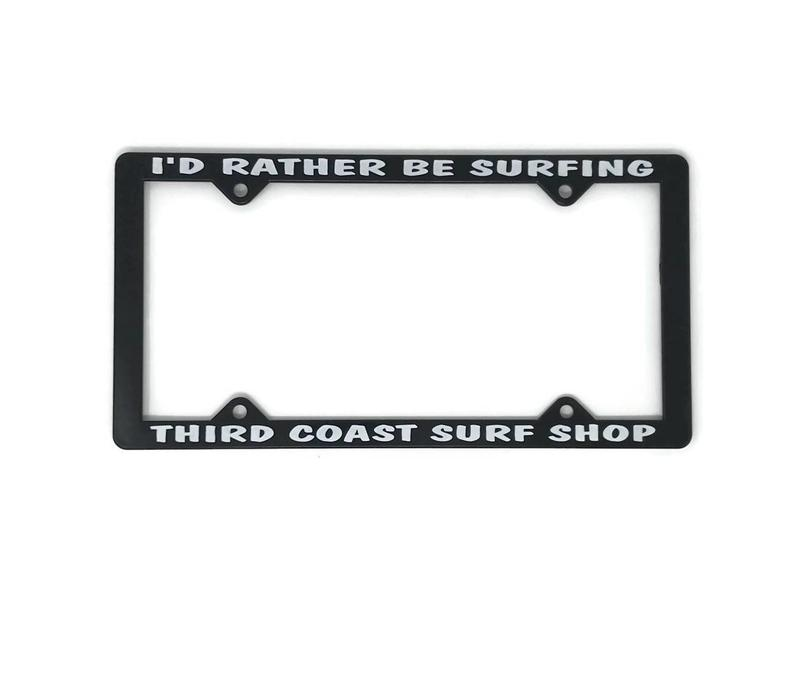 Third Coast License Plate Frame