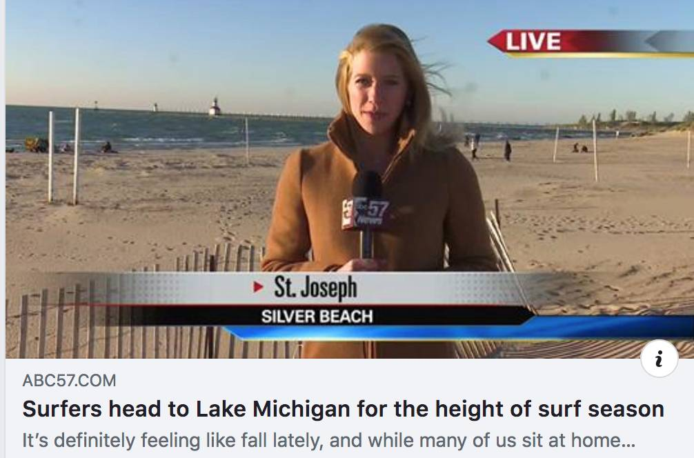 Great Lakes Surfing in the News
