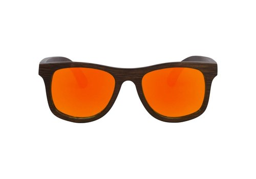 RawWood Shades RawWood Lakers Brown & Orange