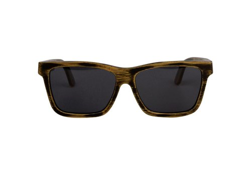 RawWood Shades RawWood Cruisers Charcoal & Smoke