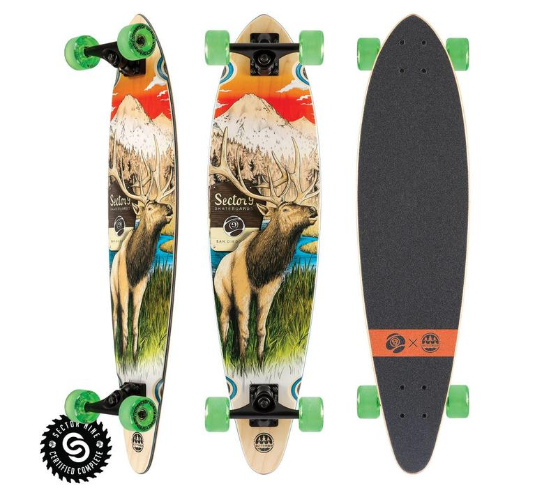 """Sector 9 Stag Swift Complete 34.5"""" X 8.5"""""""