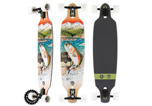 "Sector 9 Sector 9 Tackle Fractal Complete 36"" X 9"""