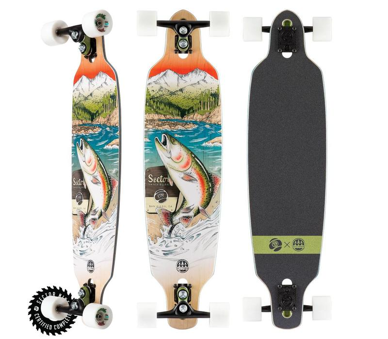 "Sector 9 Tackle Fractal Complete 36"" X 9"""
