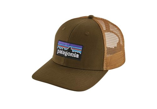 Patagonia Patagonia P-6 Logo Trucker Hat Sediment
