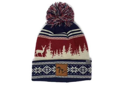 Third Coast Third Coast Beanie Treeline Elk Blue/Cream/Red