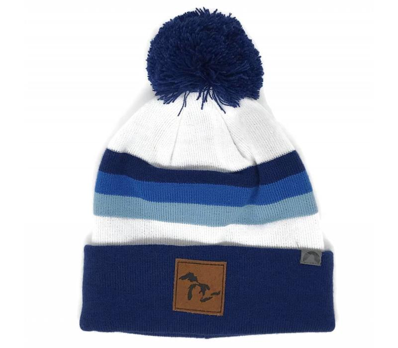 Third Coast Beanie Horizon Navy/White/Blue