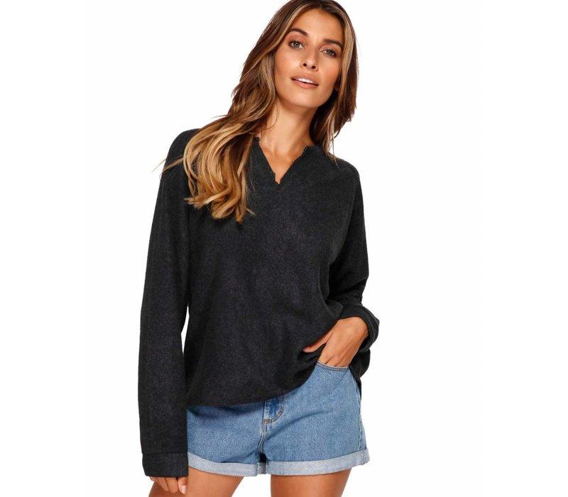 Billabong Beach Sweater Fleece  Charcoal