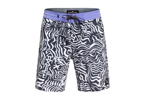 "Quiksilver Quiksilver Secret Ingredient Beachshort 18"" White"