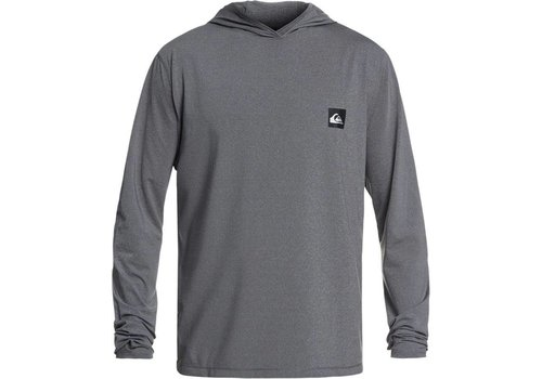 Quiksilver Quiksilver Salty Dog Hooded LS Rashguard Dark Grey Heather