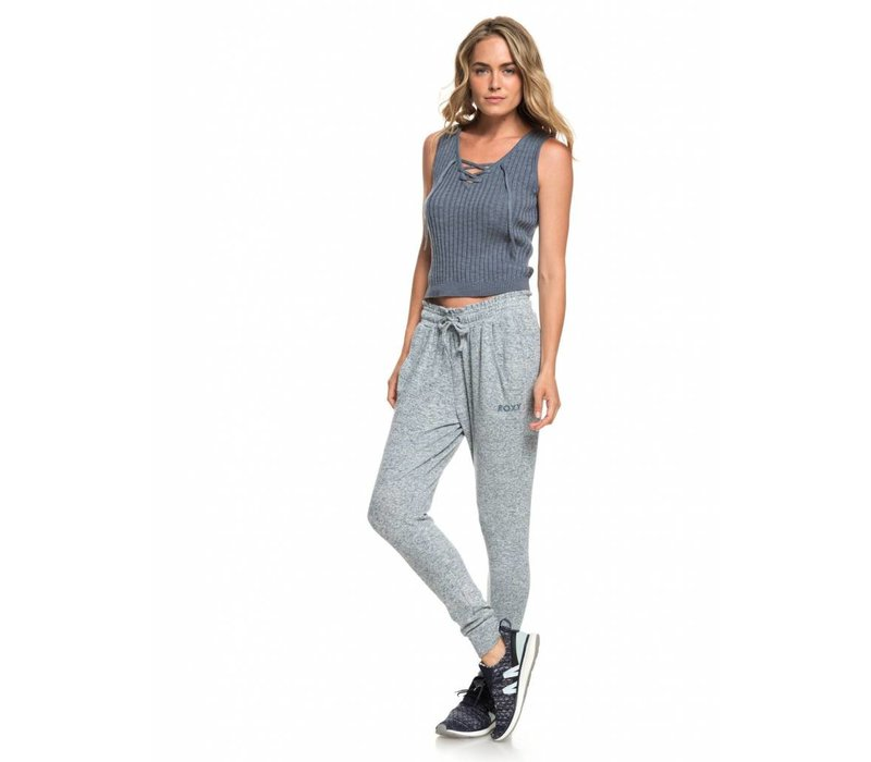Roxy Just Yesterday Joggers Blue Mirage Heather