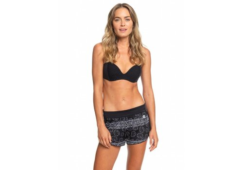 Roxy Roxy Island In The Sun Reversible Short Anthracite Geo Palms