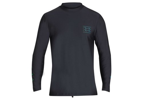 Billabong Billabong Unity Loose Fit LS Rashguard Black