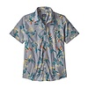 Patagonia Patagonia M's Go To Shirt Parrots Ghost Purple