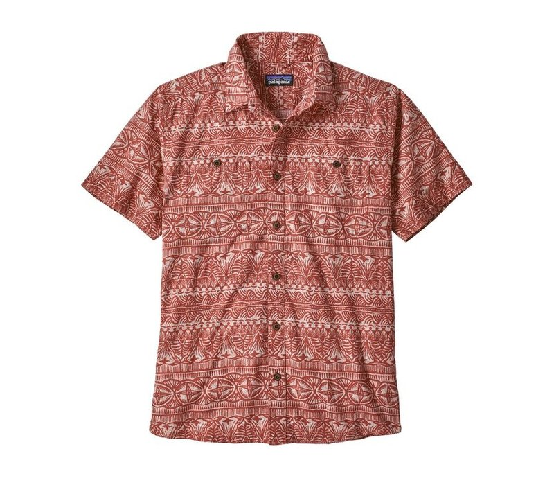 Patagonia M's Back Step Shirt Tradewinds New Adobe