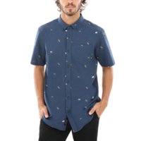 Vans Houser Short Sleeve Buttondown Barmers Market