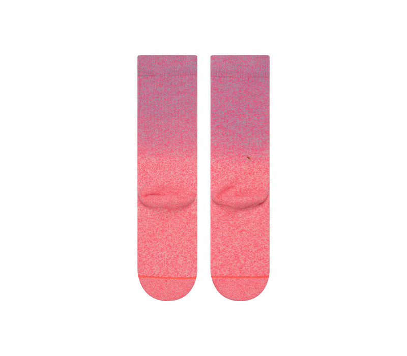 Stance Knockout Neon Coral Medium