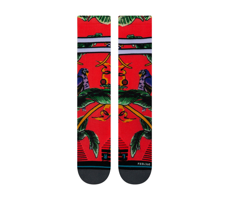 Stance Tripicana Crew Red Large