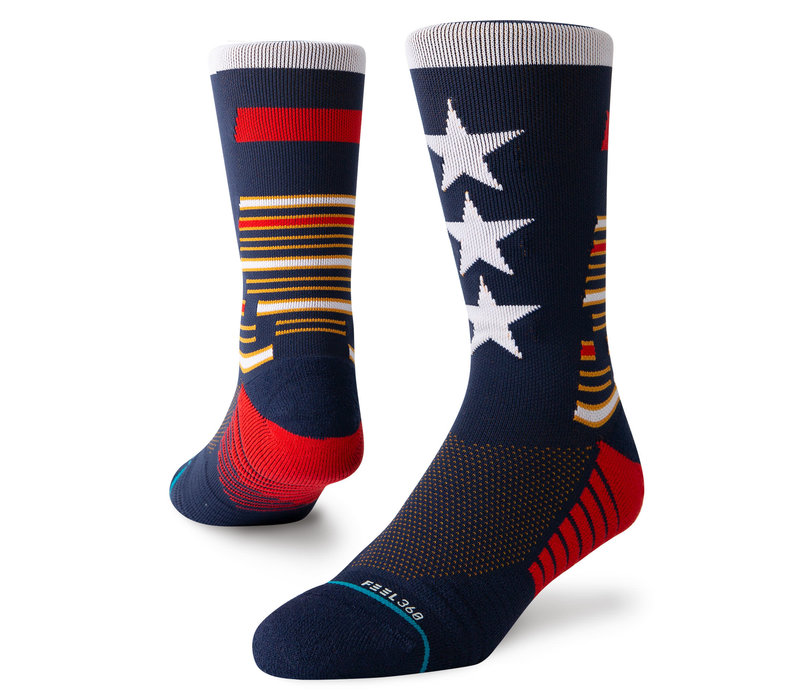 Stance Tribute Crew Navy Large