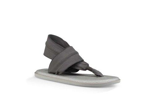 Sanuk Sanuk Yoga Sling 2 Metallic LX Charcoal Metallic Silver