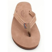 Rainbow Premier Leather Sierra Brown Single Layer Arch Narrow Strap