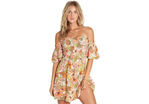 Billabong Billabong Dancing Sun Mini Dress Multi
