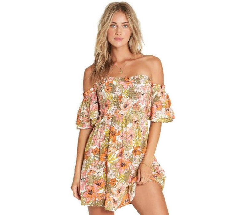 Billabong Dancing Sun Mini Dress Multi