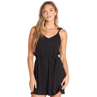 Billabong Going Steady Mini Dress Black