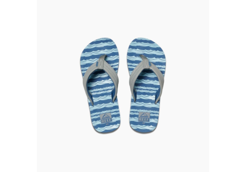 Reef Reef Kids Ahi Blue Grey Ocean