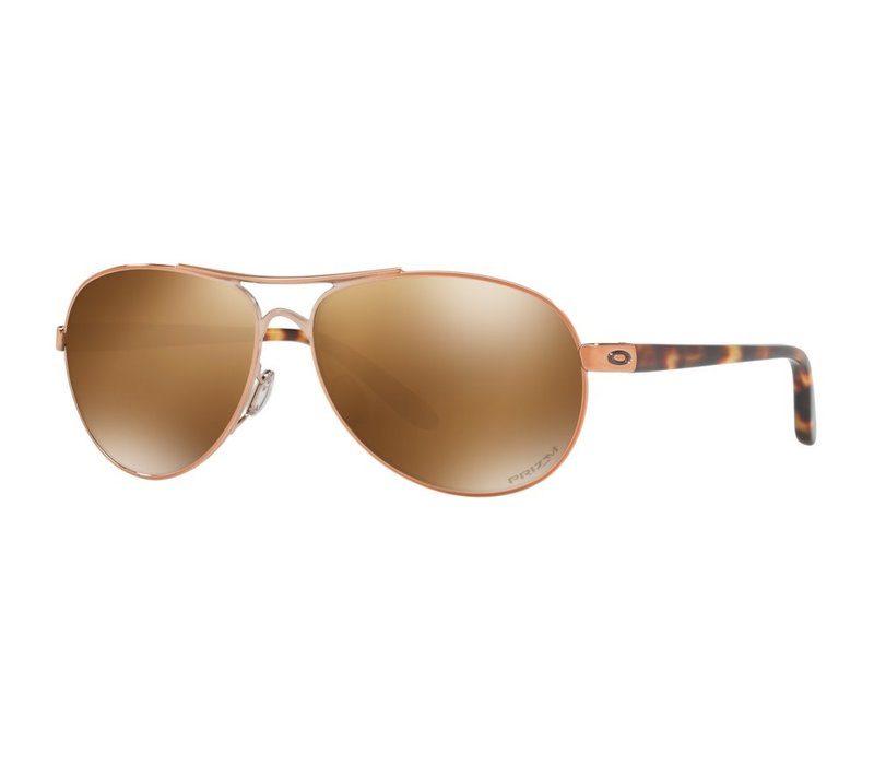 Oakley Feedback Rose Gold w/Prizm Tungsten Polarized
