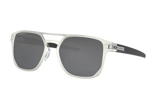 Oakley Oakley Latch Alpha Matte Silver w/Prizm Black Polarized