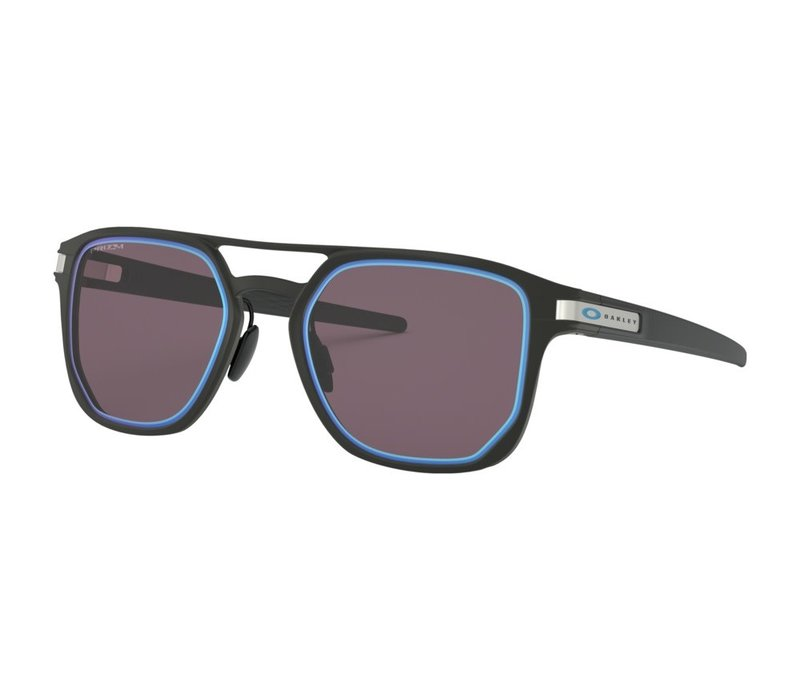 Oakley Latch Alpha Matte Black w/Prizm Grey w/Sapphire