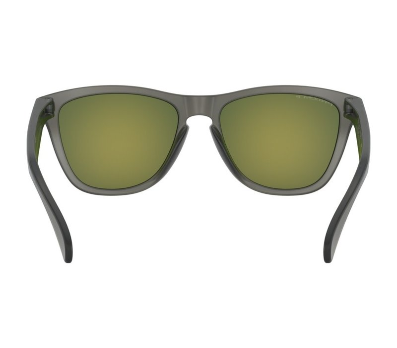Oakley Frogskins Matte Grey Smoke w/Prizm Ruby Polarized