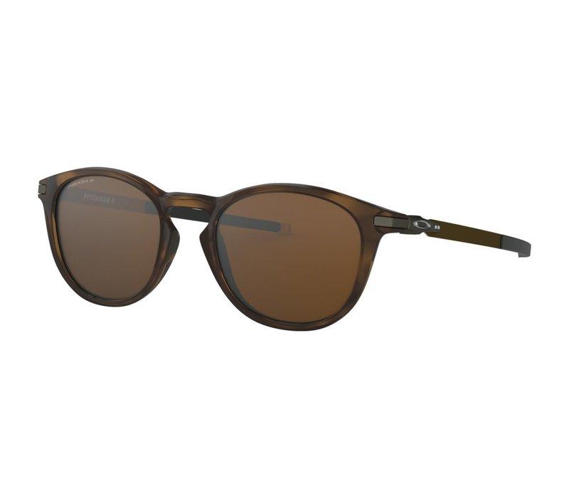 Oakley Pitchman R Polished Brown Tortoise w/Prizm Tungsten