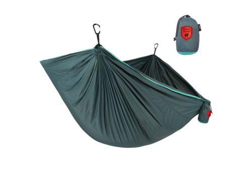 Grand Trunk Grand Trunk Trunk Tech Double Hammock Teal/Turquoise