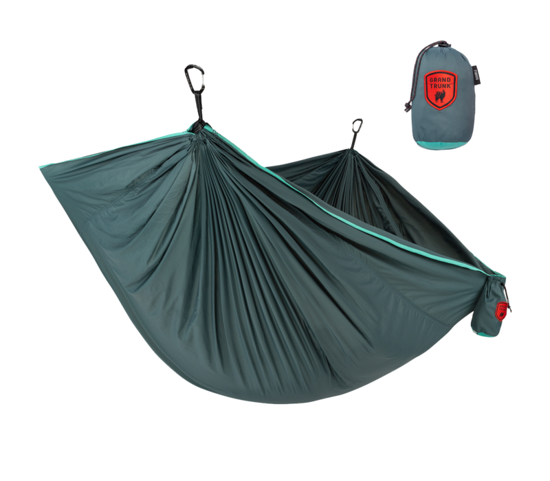Grand Trunk Trunk Tech Double Hammock Teal/Turquoise
