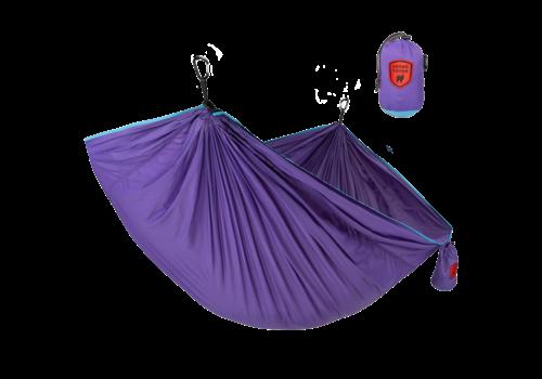 Grand Trunk Grand Trunk Trunk Tech Double Hammock Aqua/Violet