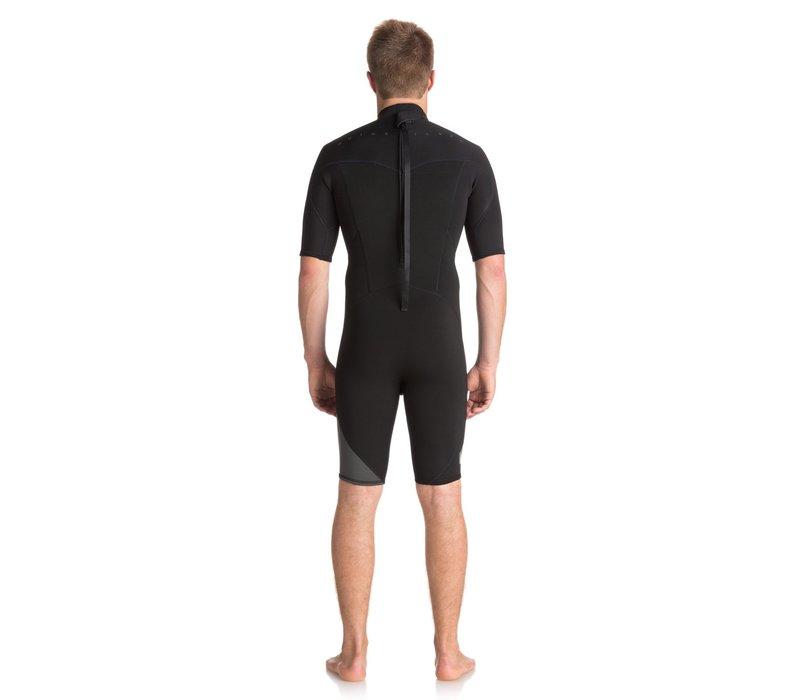 Quiksilver 2/2  Syncro Series Short Sleeve Back Zip