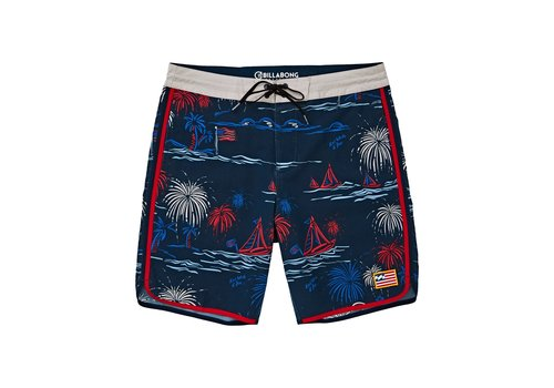 Billabong Billabong 73 Lineup LT Red/Blue