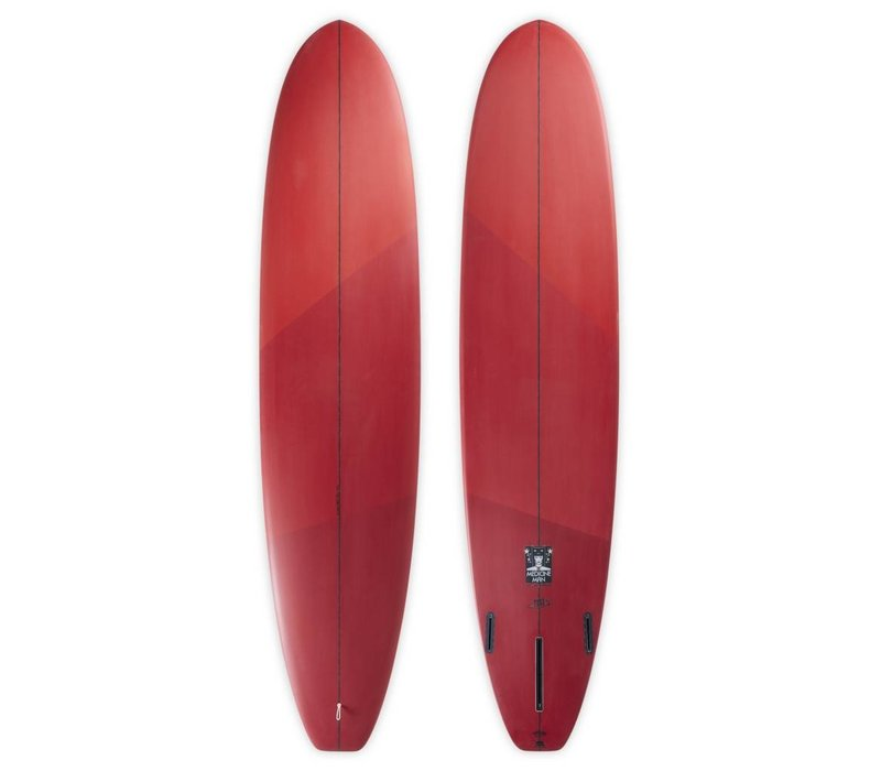 3rd Coast Surfboards 7'6 Medicine Man V7 Red Ombre
