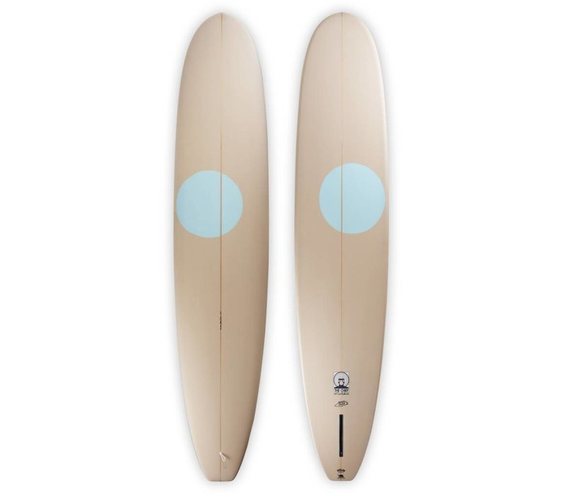 3rd Coast Surfboards 9'2 Chief V7 Tan/Teal Dot