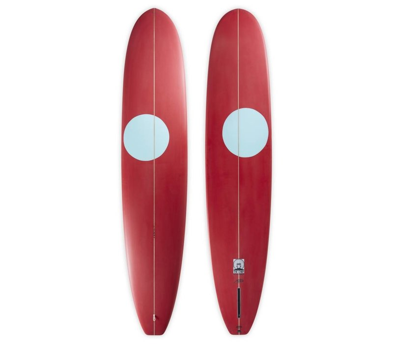 3rd Coast Surfboards 10'0 Chief V7 Red/Teal Dot