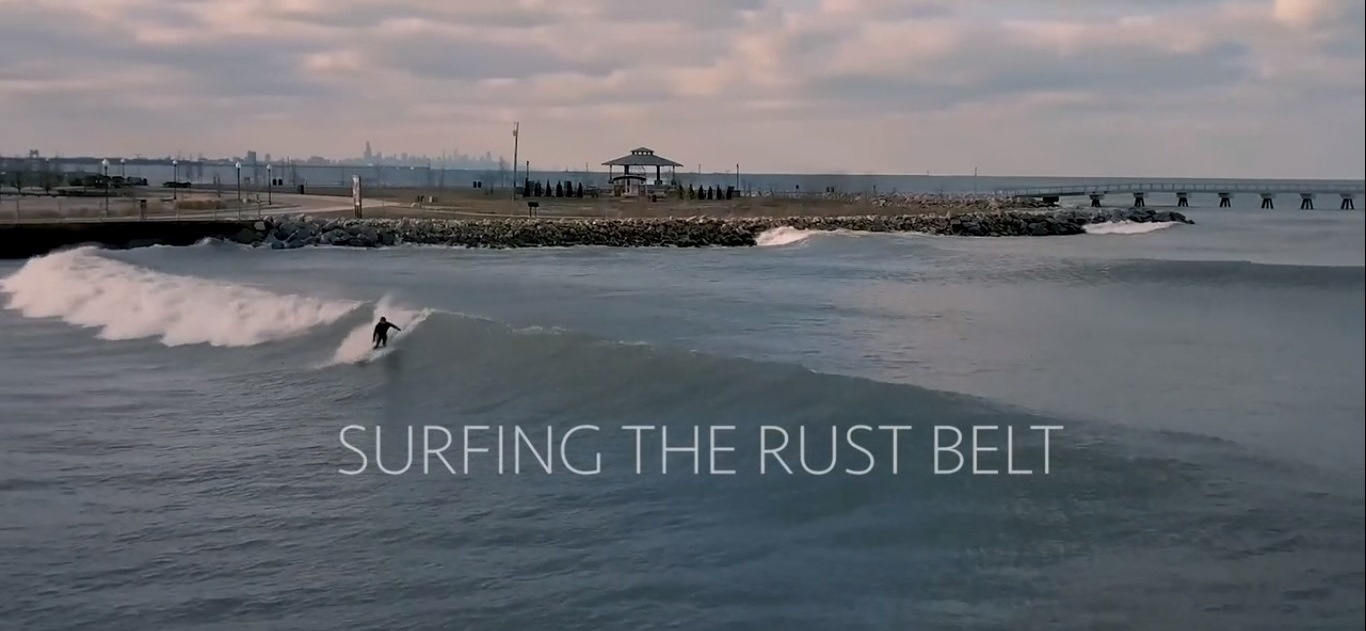 Surfing the Rust Belt :: New Video