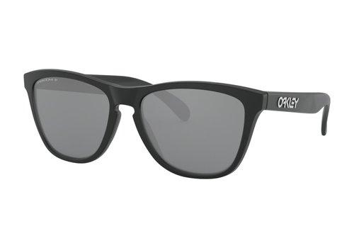 Oakley Oakley Frogskins Matte Black Prizm Black Polarized