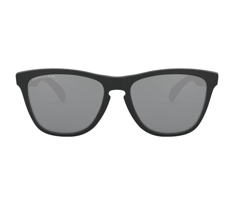 Oakley Frogskins Matte Black Prizm Black Polarized