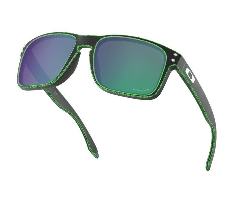 Oakley Holbrook Racewarn Green Prizm Jade Polarized