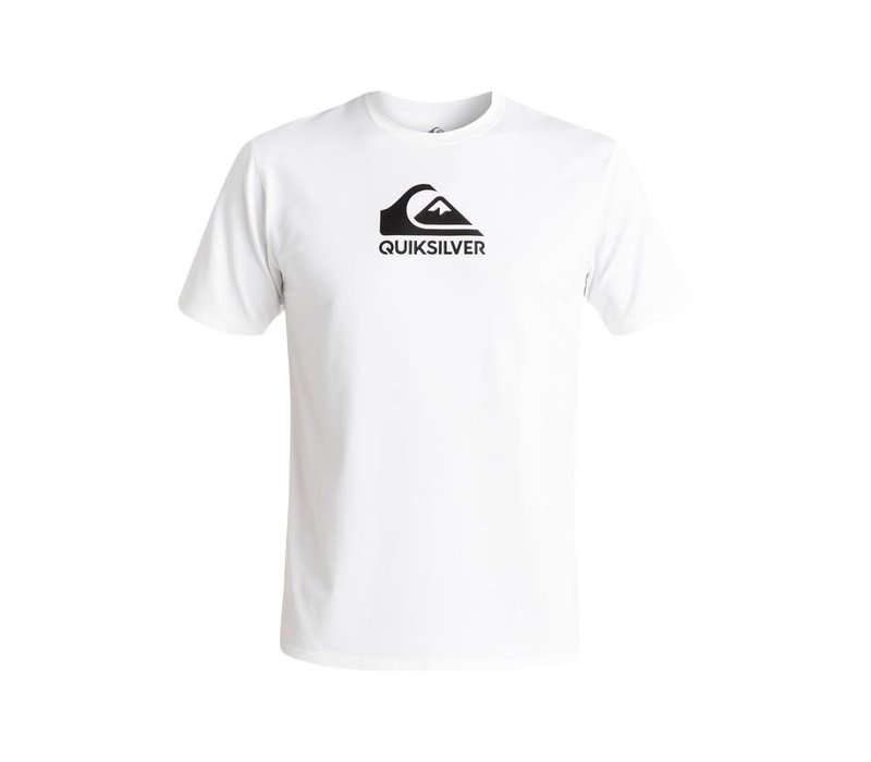 Quiksilver Solid Streak SS White