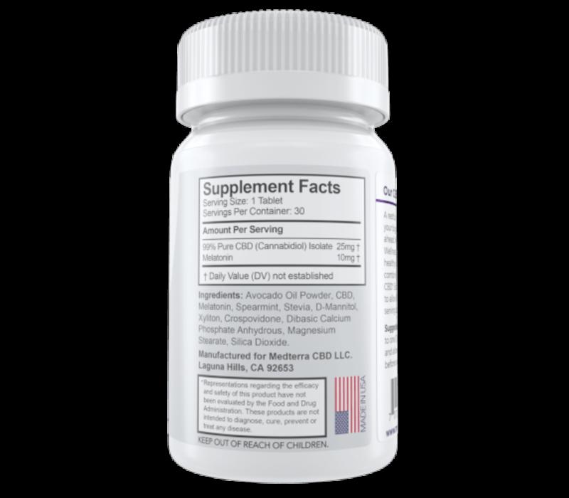 Medterra CBD MedOil Sleeping Pills
